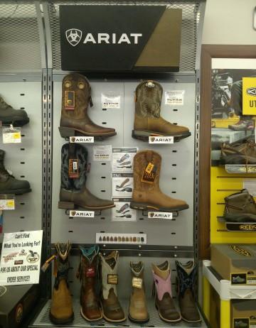 Ariat brand footwear